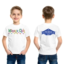 Customize White Mileage Club T-Shirt