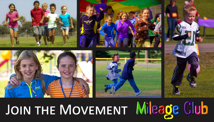 Mileage Club is America's favorite youth running program. There are over 2.5 million children running and walking in over 20,000 schools. Join the Movement!