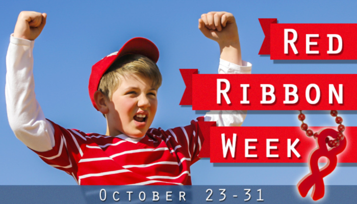 Red Ribbon Week is October 23-31st. Shop drug free awards and tokens.
