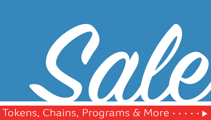 Tokens, Chains, Programs and More On Sale