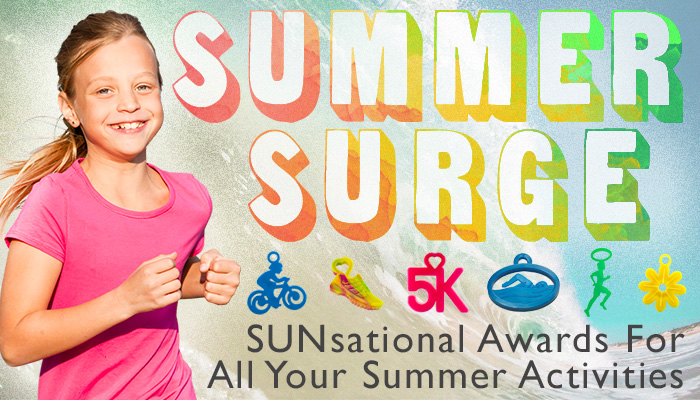 Summer fitness awards for kids.