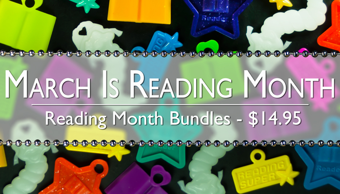Reading Month Bundles are back. 100 of our most popular reading awards and 25 6