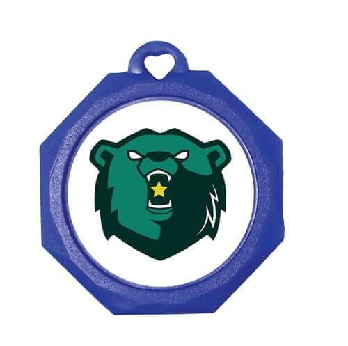 Large Sticker Medal - Plain or Custom Printed