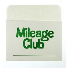 Mileage Club® - Peel-and-Stick Card Files