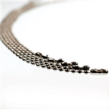 Silver Beaded Chains for Kids