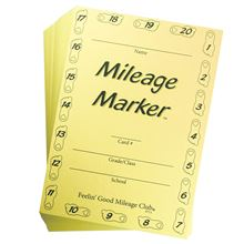 Mileage Club - Mileage Marker Cards (I)