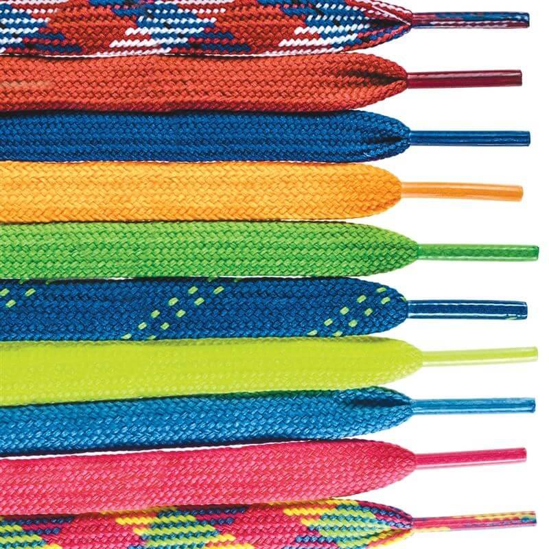 Rainbow Kids Shoe Laces