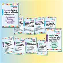 Character Education - Character Bound Classroom Posters